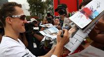 Michael Schumacher GP Australien 2010