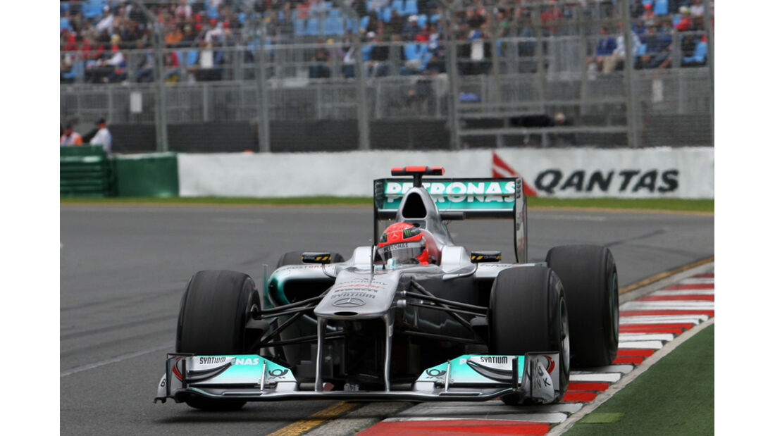 Michael Schumacher GP Australien 2011