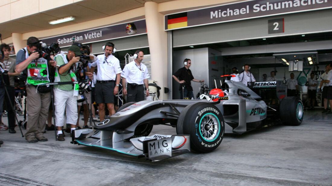 Michael Schumacher GP Bahrain 2010