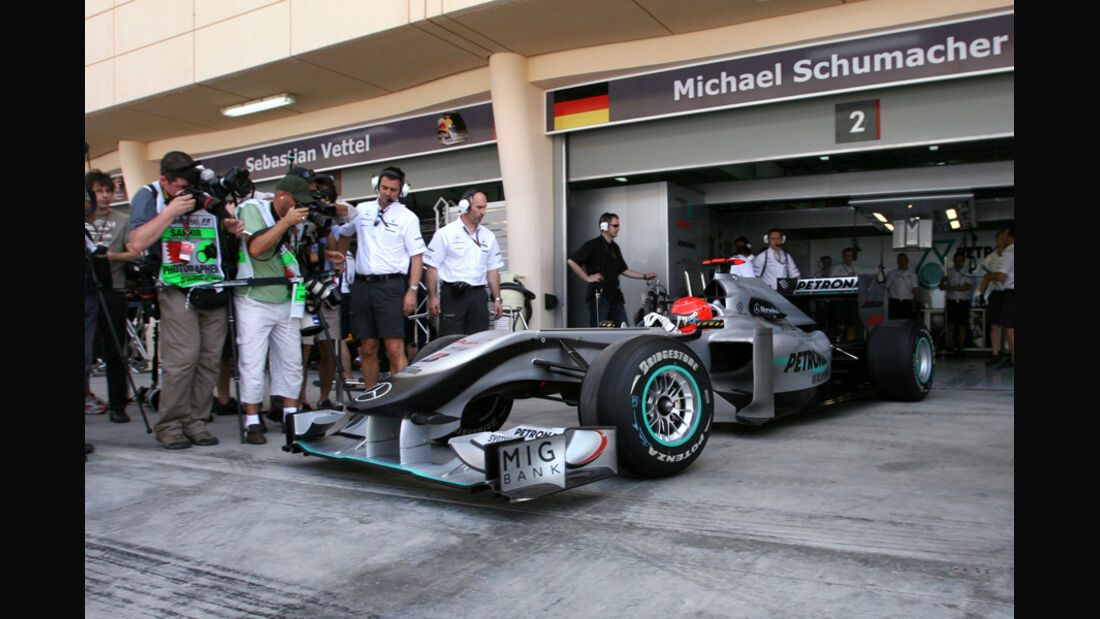 Michael Schumacher GP Bahrain 2010