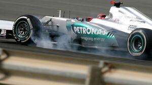 Michael Schumacher GP Bahrain 2012