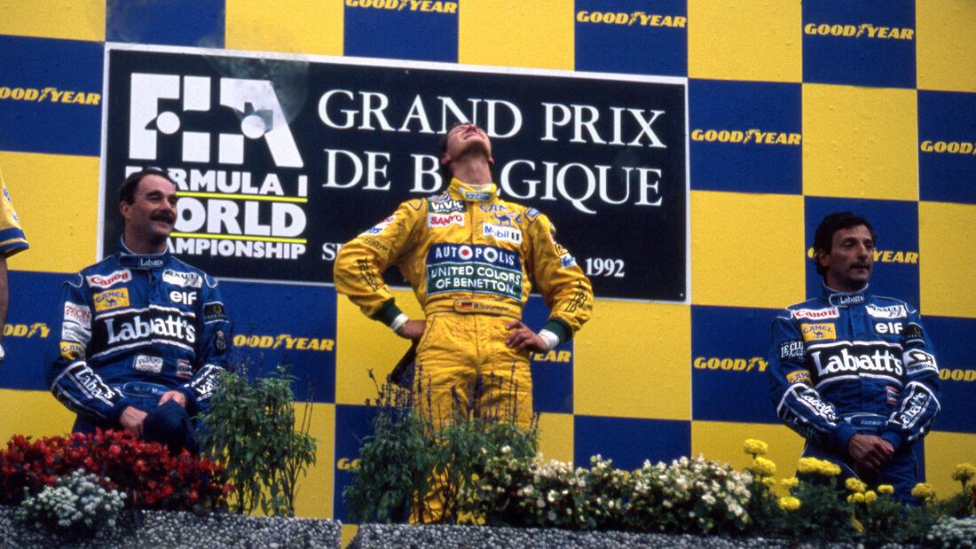 Michael Schumacher - GP Belgien 1992