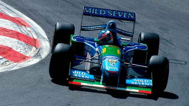 Michael Schumacher - GP Belgien 1994