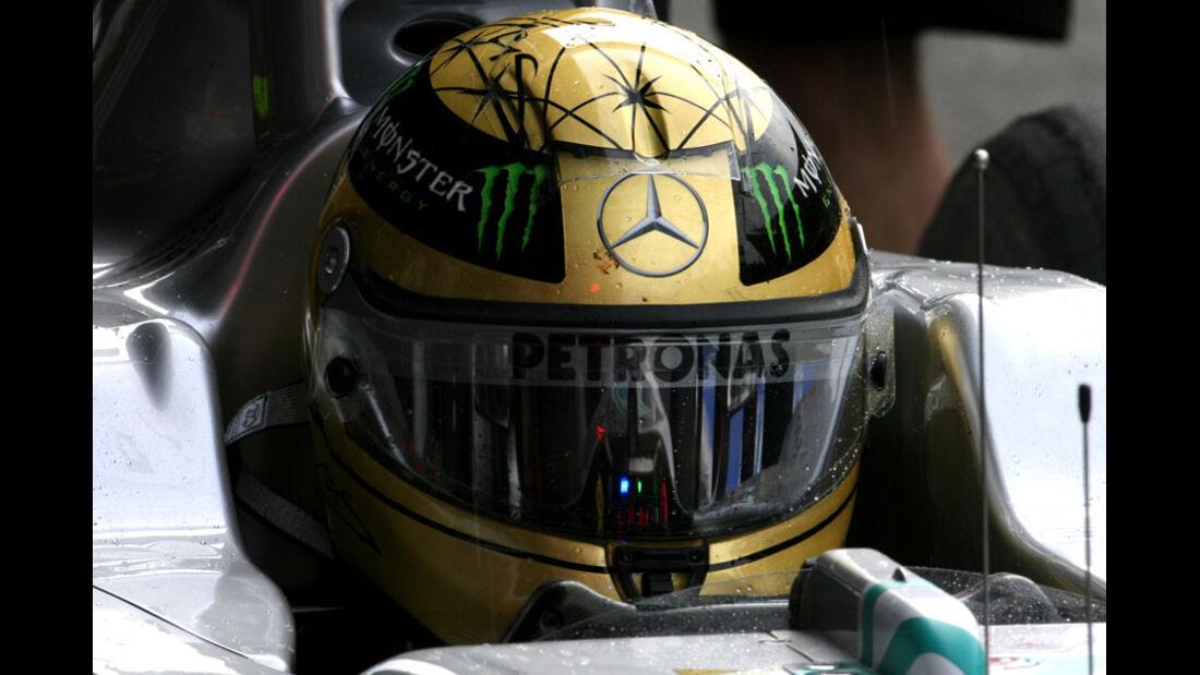Michael Schumacher - GP Belgien - 26. August 2011