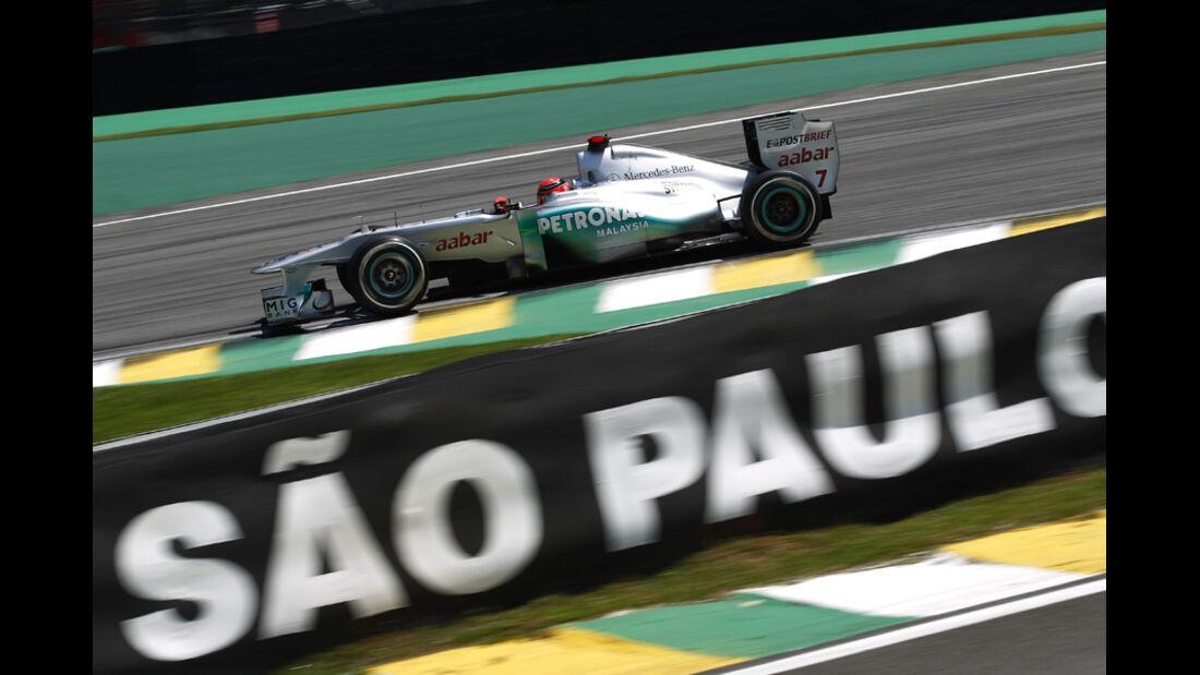 Michael Schumacher GP Brasilien 2011