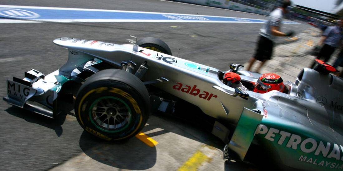 Michael Schumacher - GP Brasilien - 25. November 2011