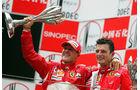 Michael Schumacher GP China 2006 Podium
