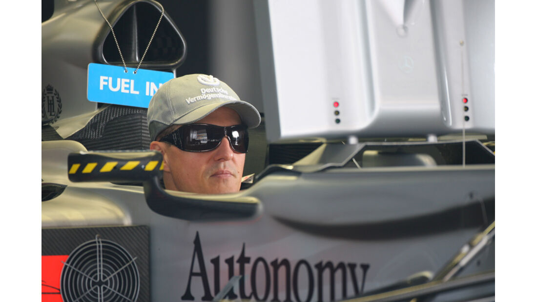 Michael Schumacher GP China 2010