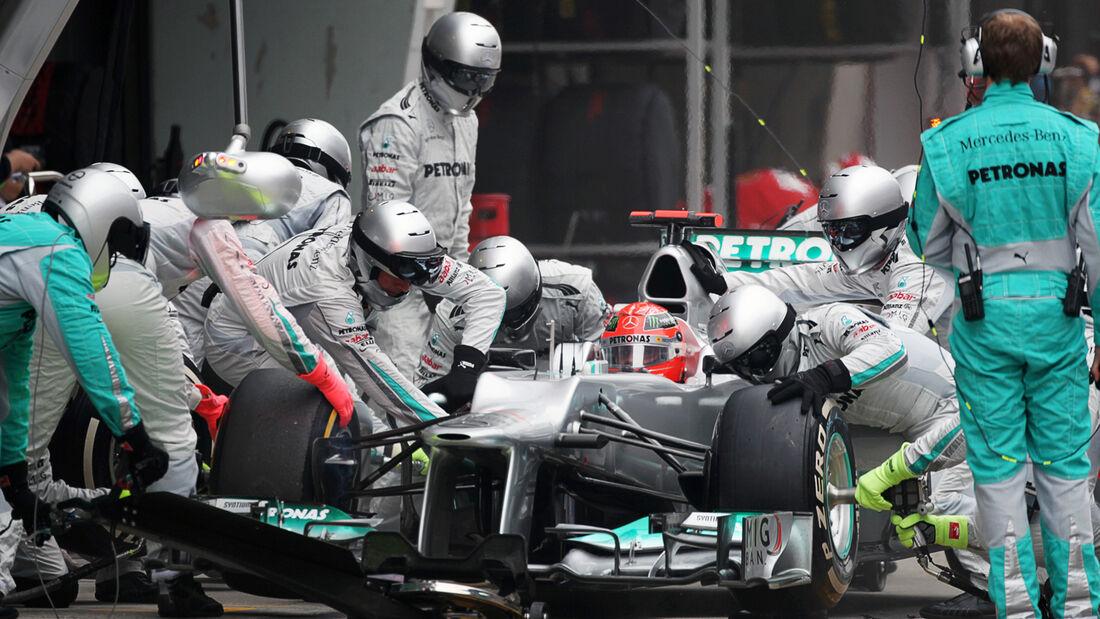 Michael Schumacher GP China 2012
