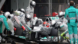 Michael Schumacher GP China 2012