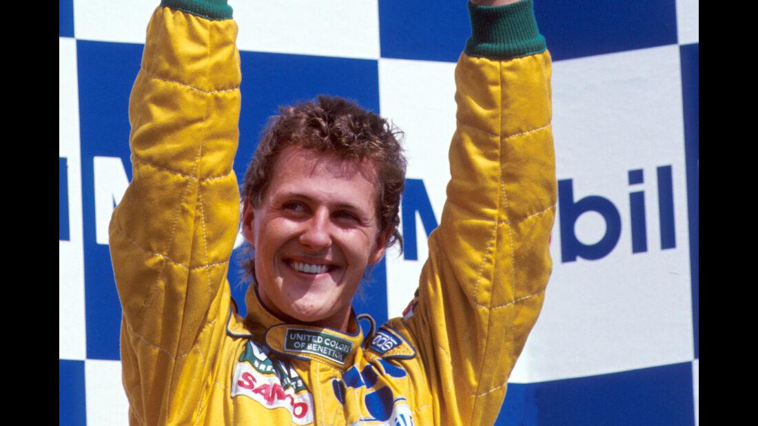 Michael Schumacher - GP Deutschland 1992