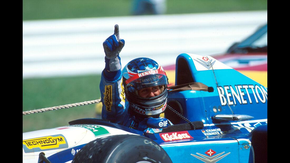 Michael Schumacher - GP Deutschland 1995