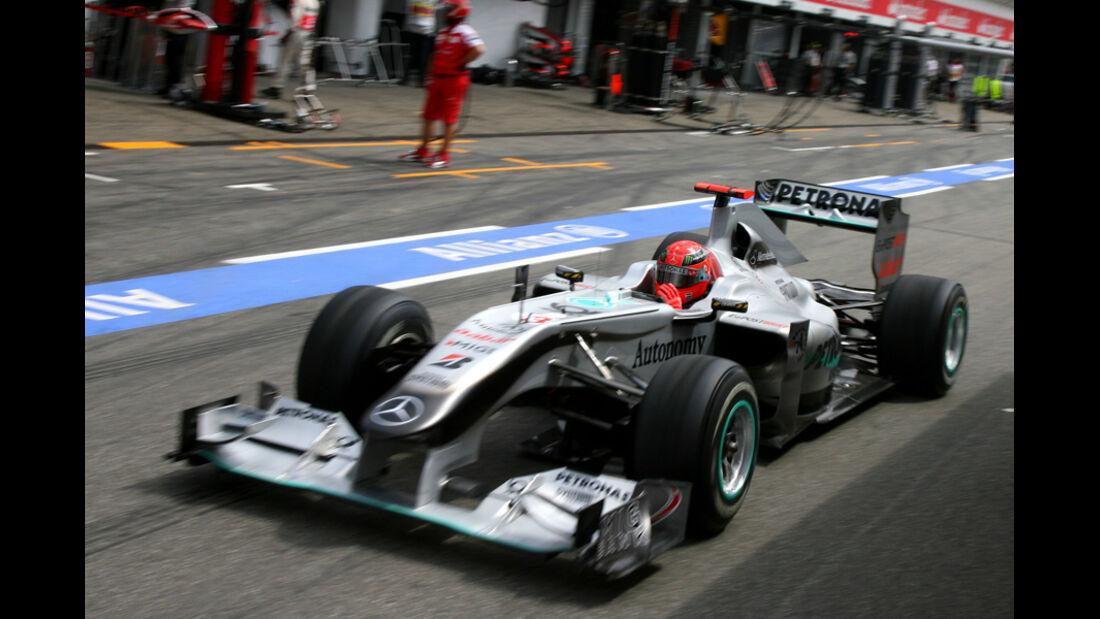 Michael Schumacher GP Deutschland 2010
