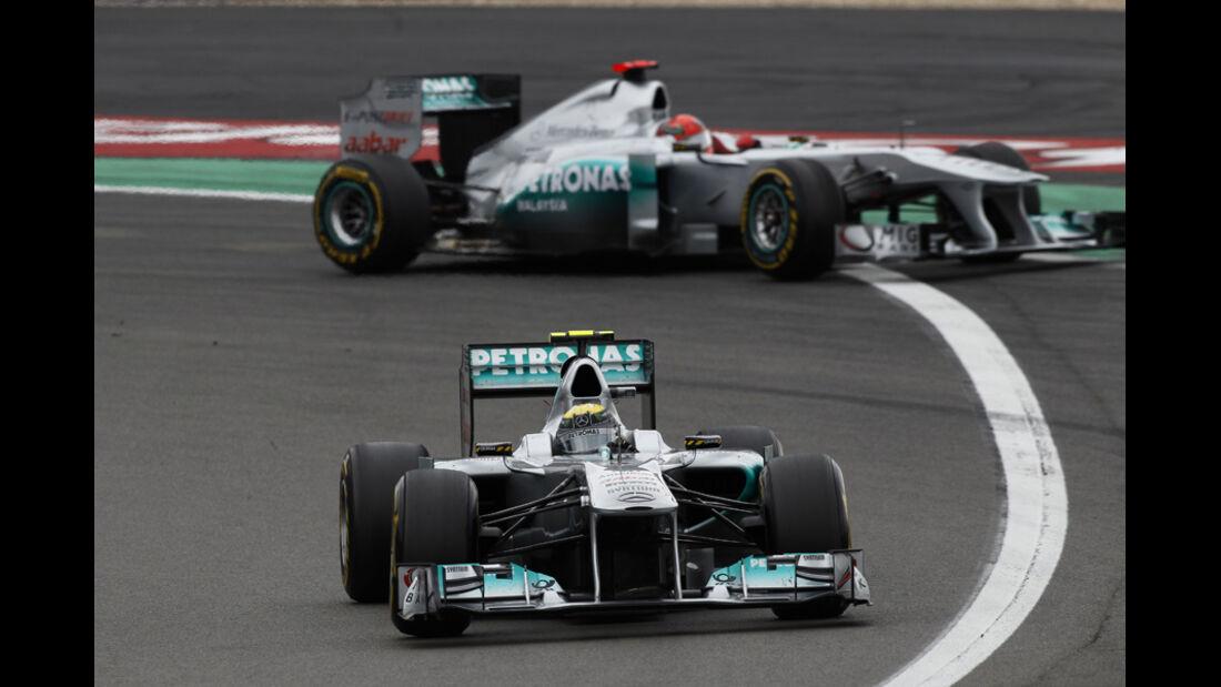 Michael Schumacher GP Deutschland 2011 Noten
