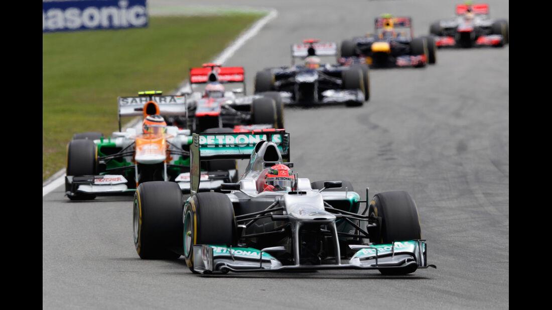 Michael Schumacher GP Deutschland 2012