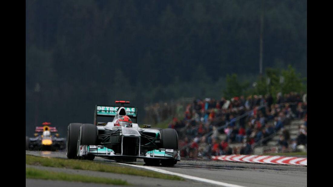 Michael Schumacher - GP Deutschland - Nürburgring - 22. Juli 2011