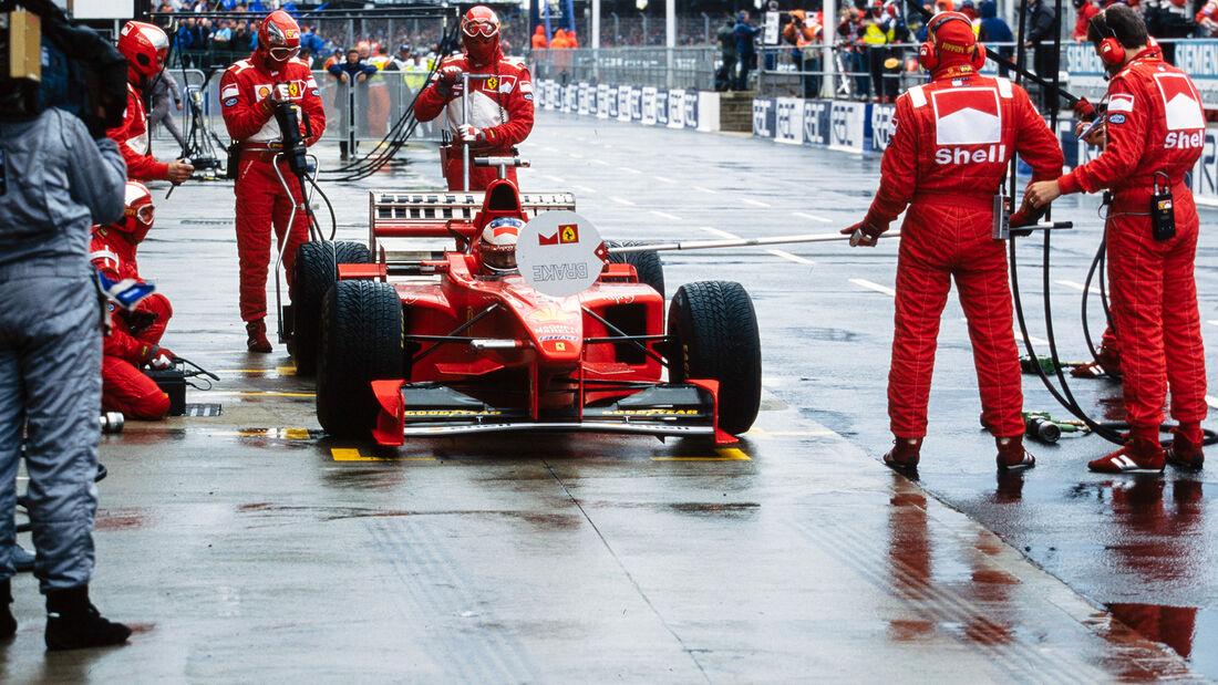 Michael Schumacher - GP England 1998