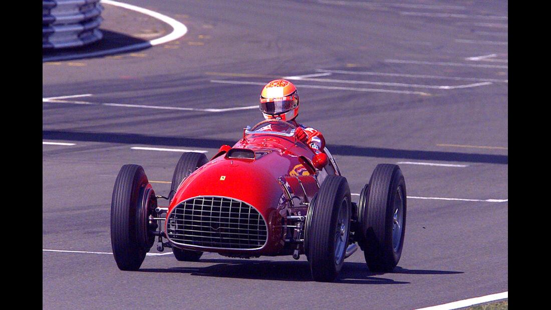Michael Schumacher GP England 2001 Ferrari 375