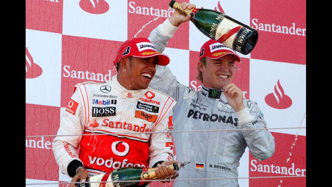 Michael Schumacher GP England 2010