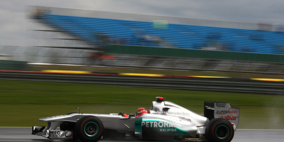 Michael Schumacher GP England 2011