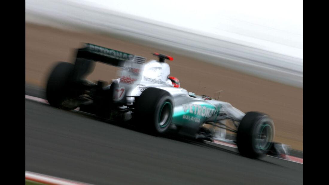Michael Schumacher - GP England - Qualifying - 9. Juli 2011