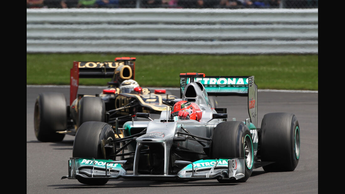 Michael Schumacher GP England Silverstone 2012