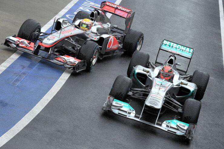 Michael Schumacher - GP England - Training - Silverstone - 8. Juli 2011