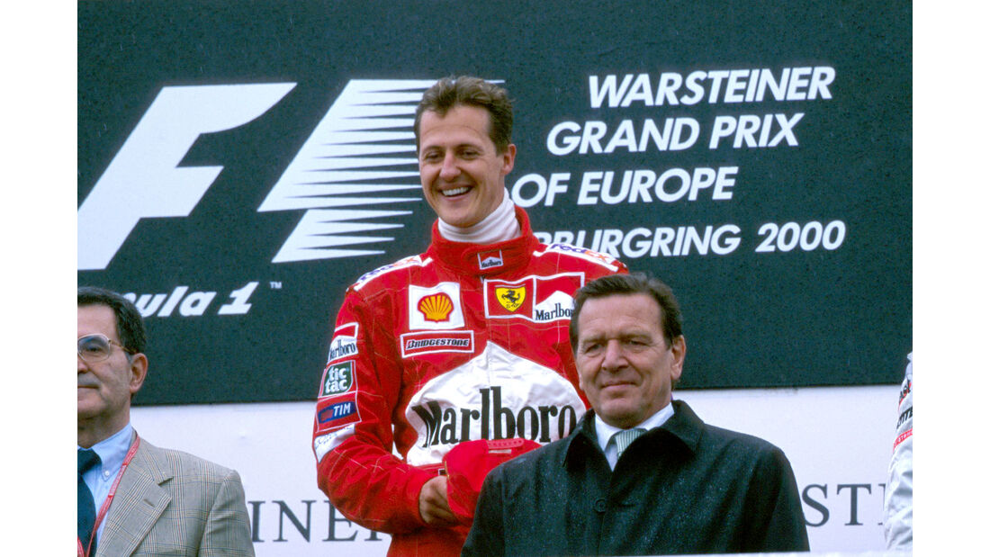 Michael Schumacher - GP Europa 2000