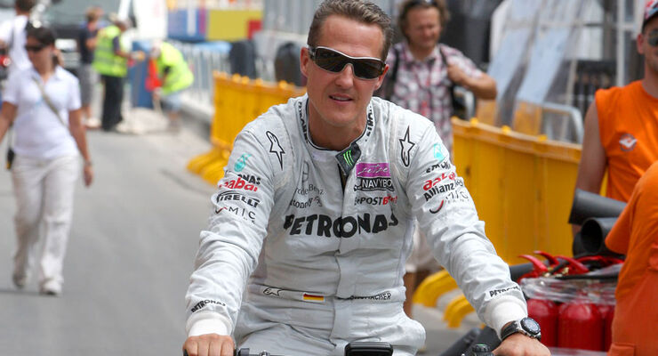 Michael Schumacher GP Europa 2011