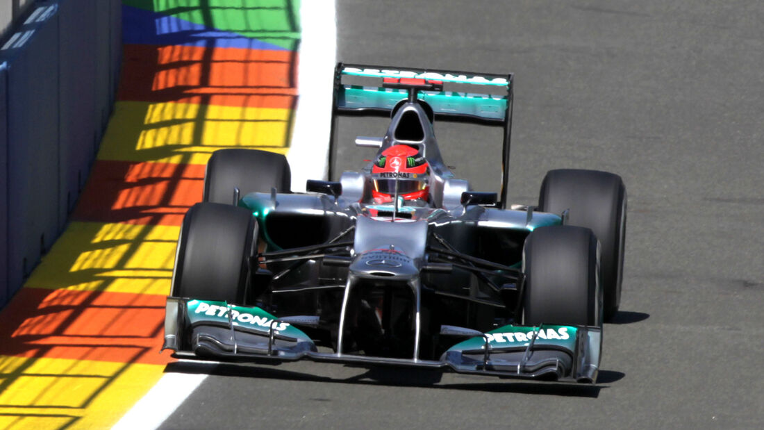 Michael Schumacher GP Europa 2012