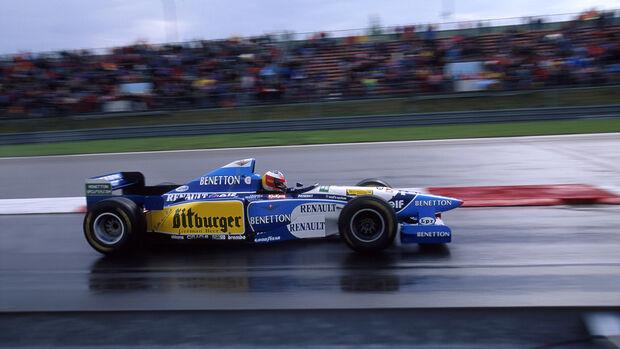 Michael Schumacher - GP Europa - Nürburgring 1995
