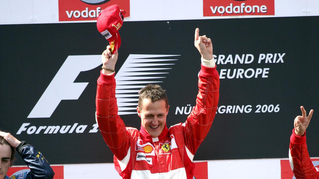 Michael Schumacher - GP Europa - Nürburgring 2006