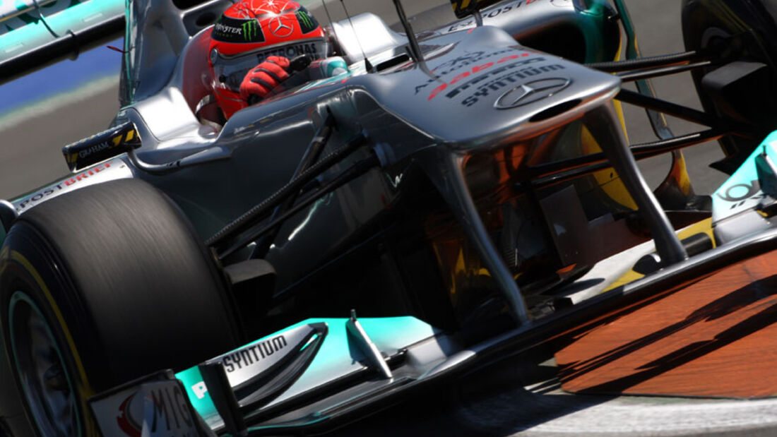 Michael Schumacher - GP Europa - Qualifying - 25. Juni 2011