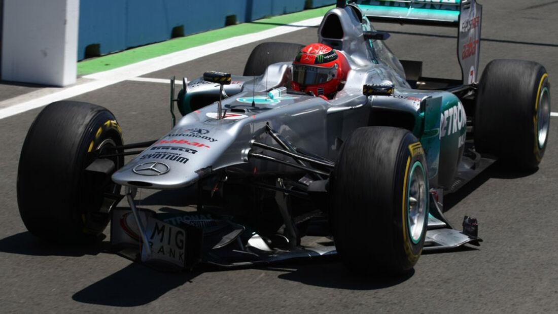 Michael Schumacher GP Europa Valencia 2011