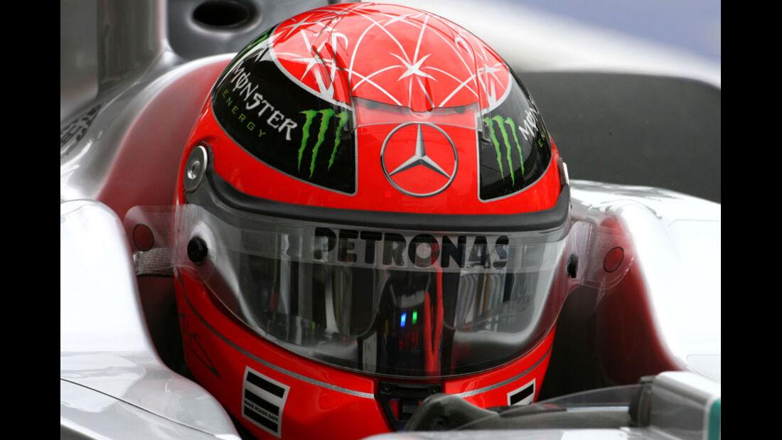 Michael Schumacher - GP Europa Valencia 2011