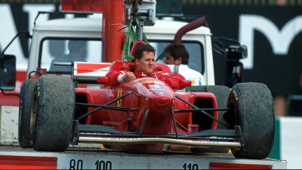 Michael Schumacher - GP Frankreich 1996