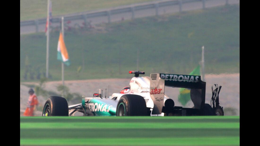 Michael Schumacher GP Indien 2012