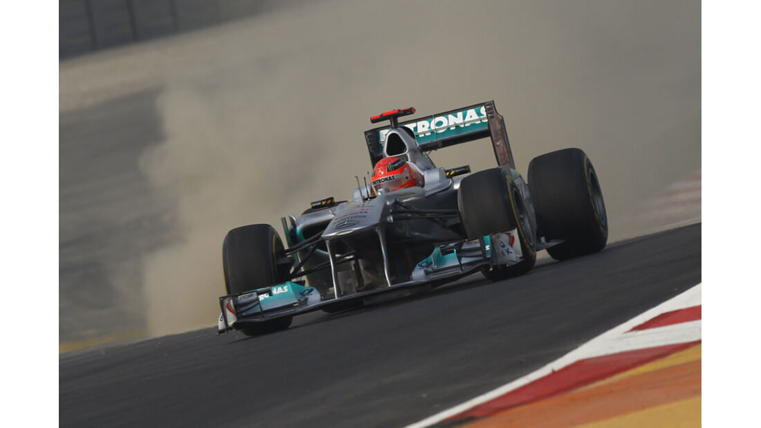 Michael Schumacher - GP Indien - Delhi - 29.10.2011