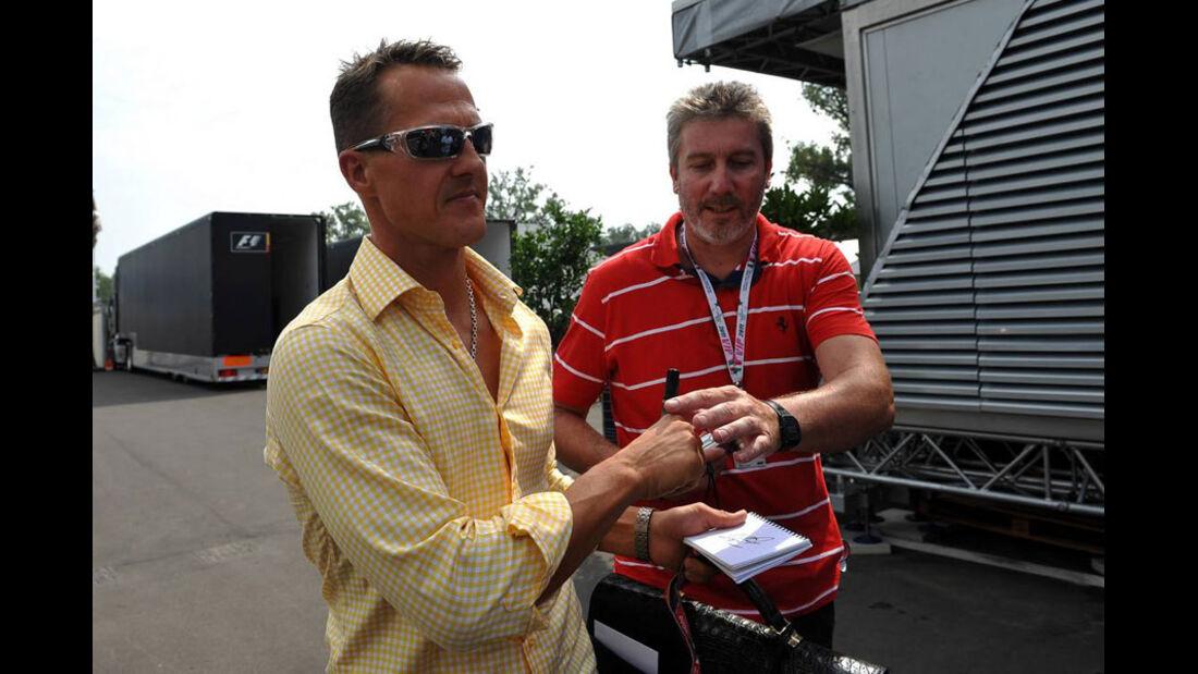 Michael Schumacher - GP Italien - 8. September 2011