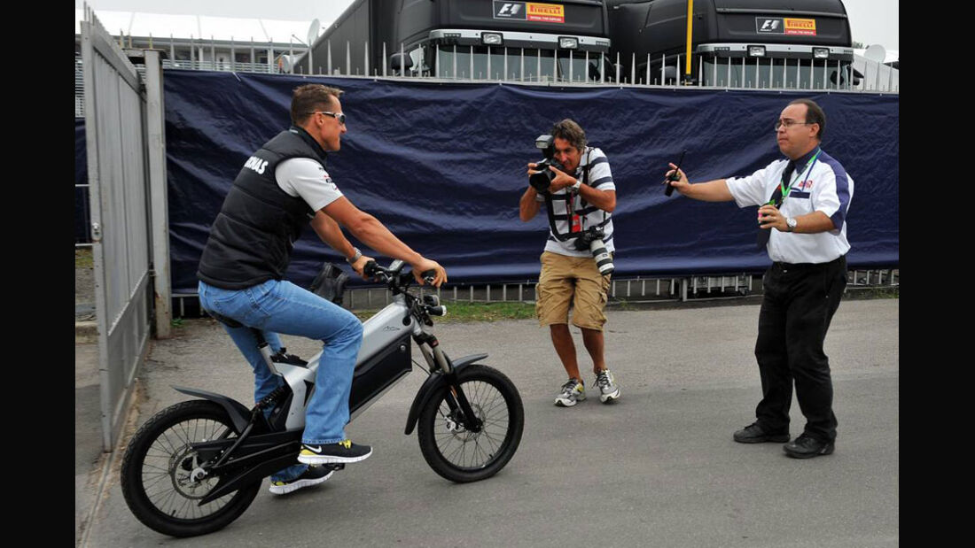 Michael Schumacher - GP Italien - Monza - 10. September 2011