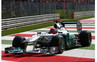 Michael Schumacher - GP Italien - Monza - 10. September 2011