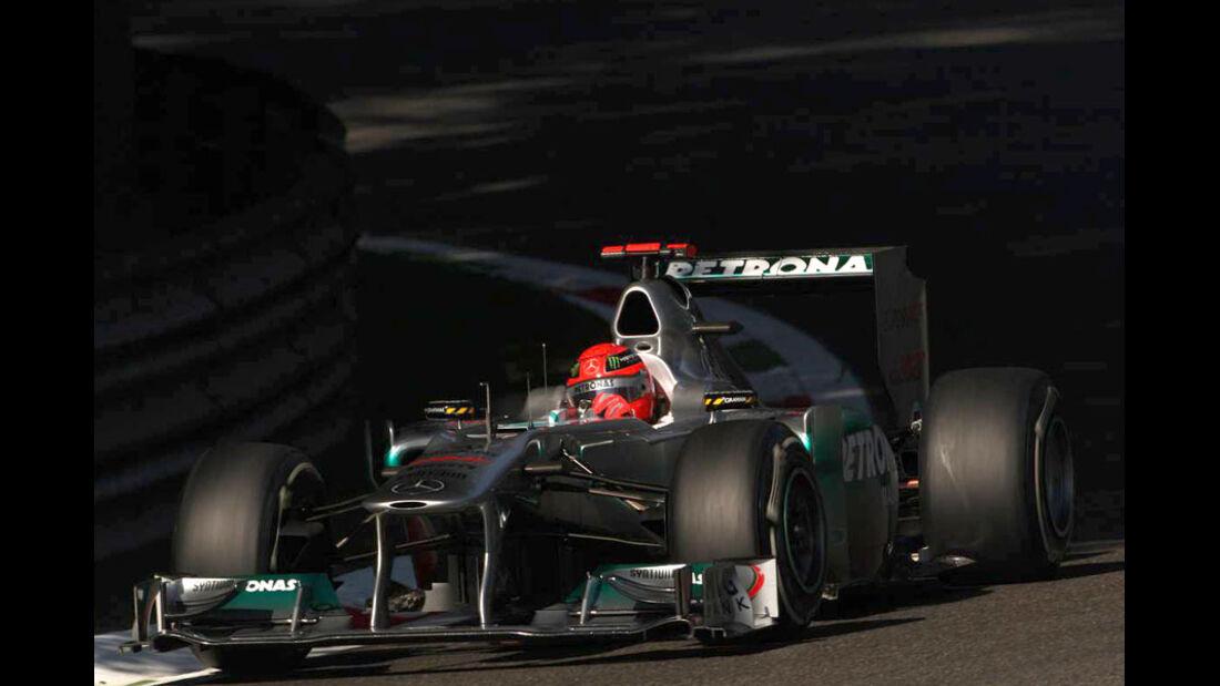 Michael Schumacher - GP Italien - Monza - 9. September 2011