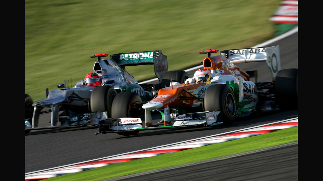 Michael Schumacher GP Japan 2012