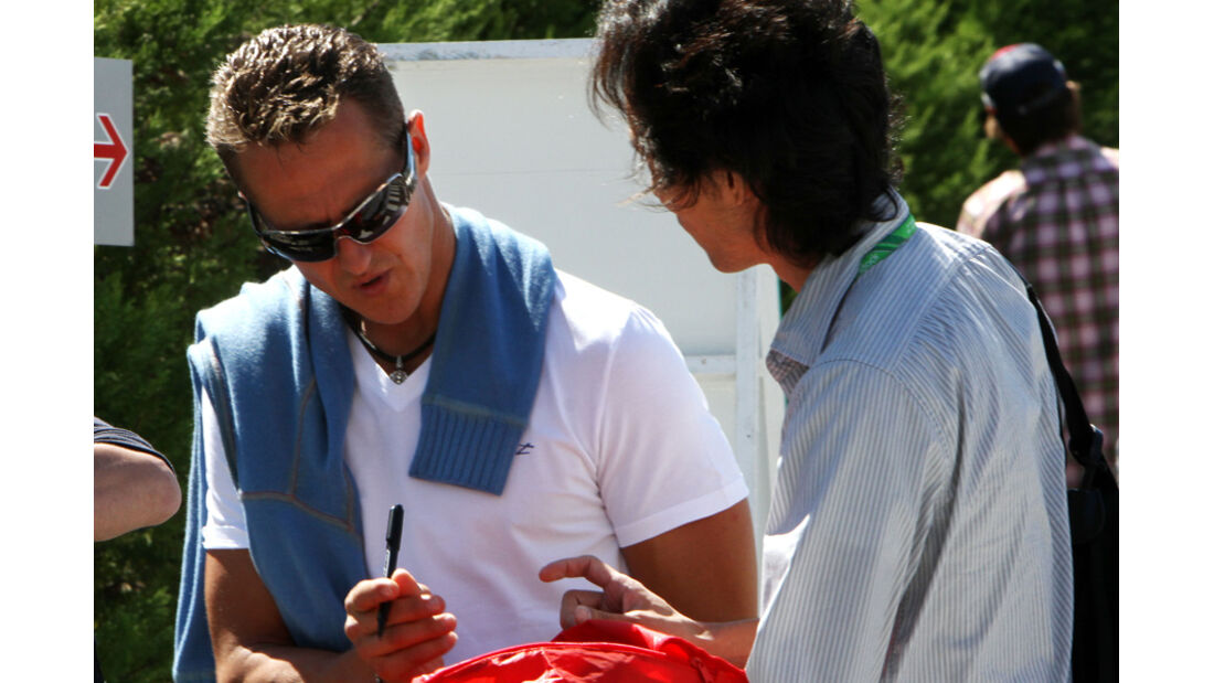 Michael Schumacher - GP Japan - Suzuka - 6. Oktober 2011