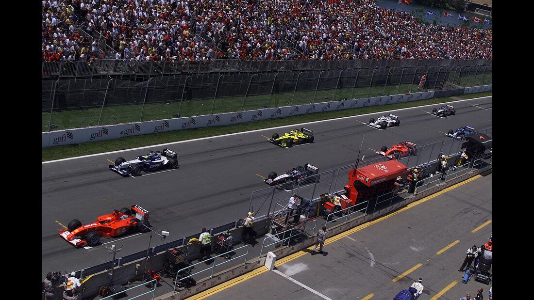 Michael Schumacher - GP Kanada 2001