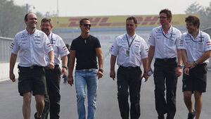 Michael Schumacher GP Korea