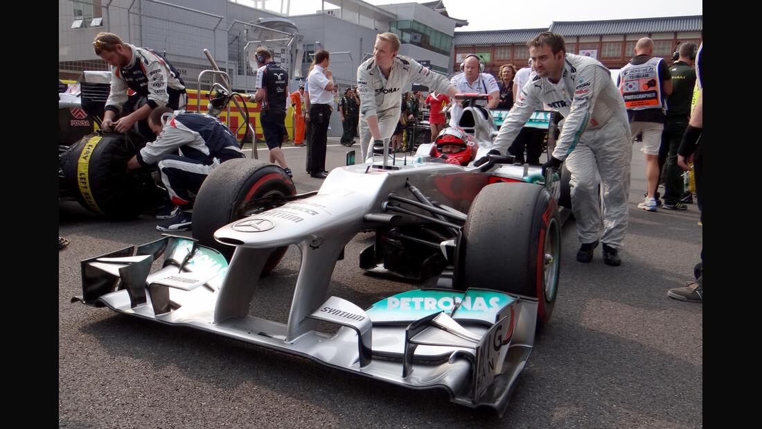 Michael Schumacher GP Korea 2012