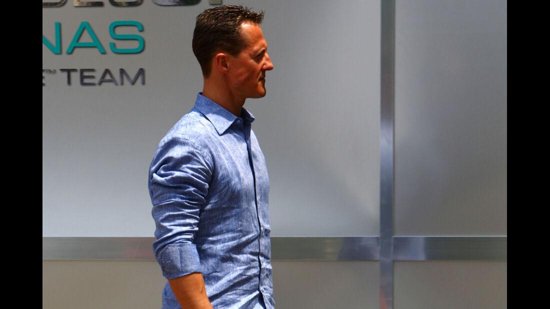 Michael Schumacher - GP Malaysia 2011