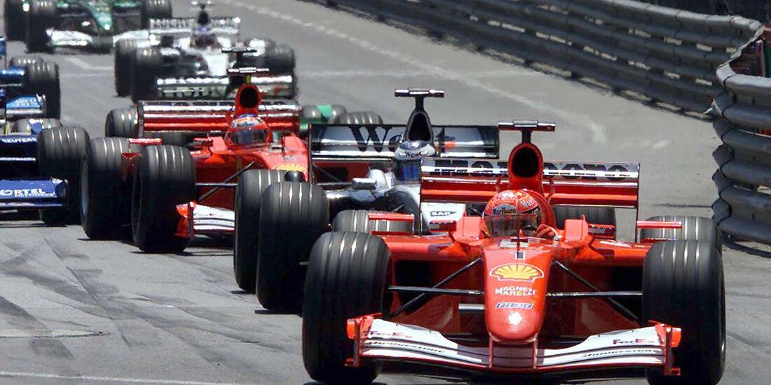 Michael Schumacher - GP Monaco 2001