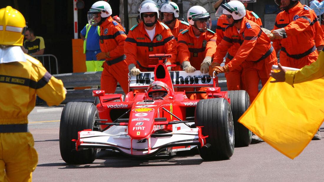Michael Schumacher - GP Monaco 2006 - Rascasse